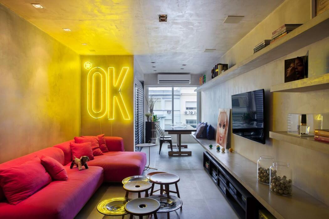 Как сделать свою квартиру ультрамодной: лофт с бетонными стенами