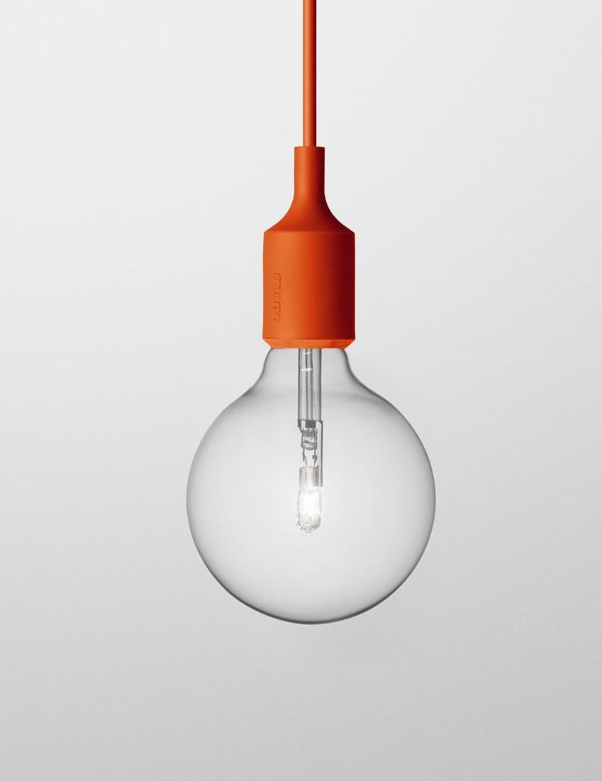 Светильник Muuto E27 red от Roomble