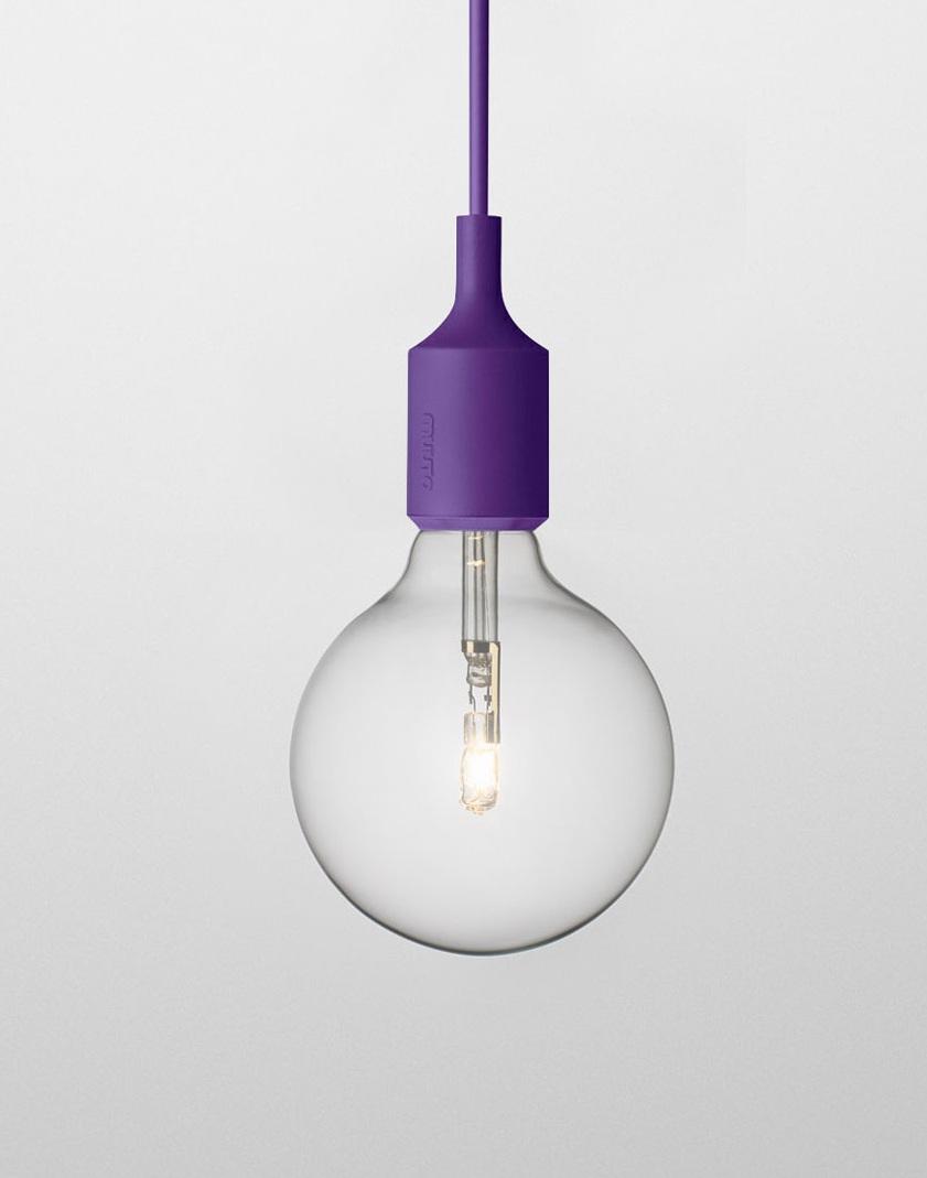 Светильник Muuto E27 purple от Roomble
