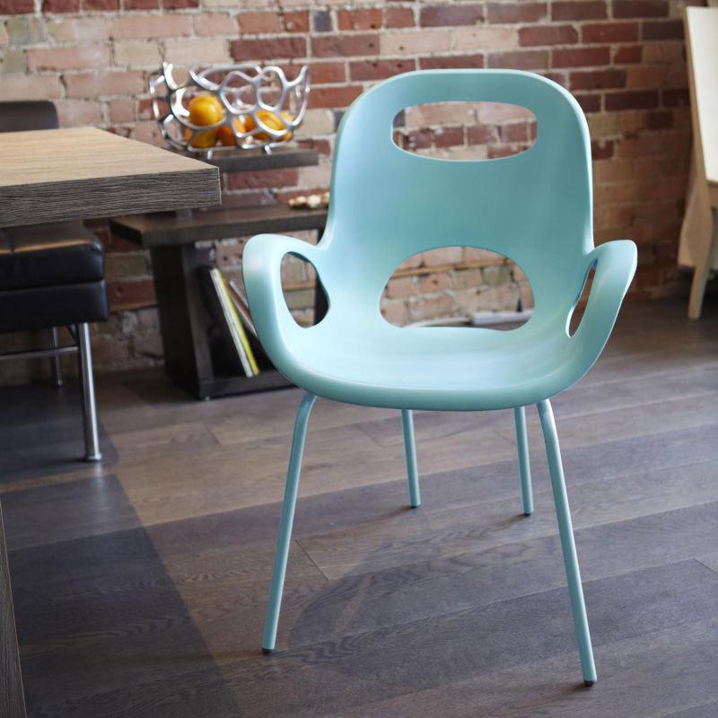 Стул дизайнерский oh chair морская волна от Roomble