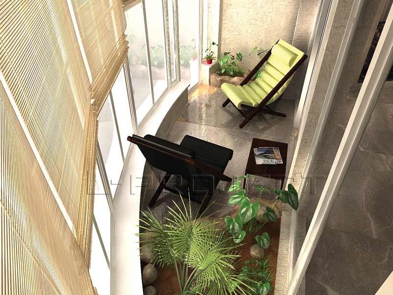 Идеи дизайнеров интерьера балконов со стеклянными дверьми..