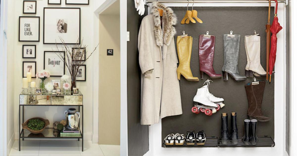 Как расположить мебель в прихожей хрущёвки: рекомендации дизайнеров
