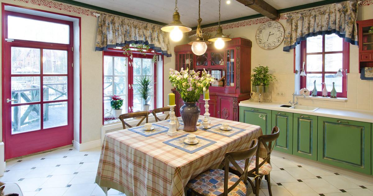 Кухня для актрисы Евгении Добровольской