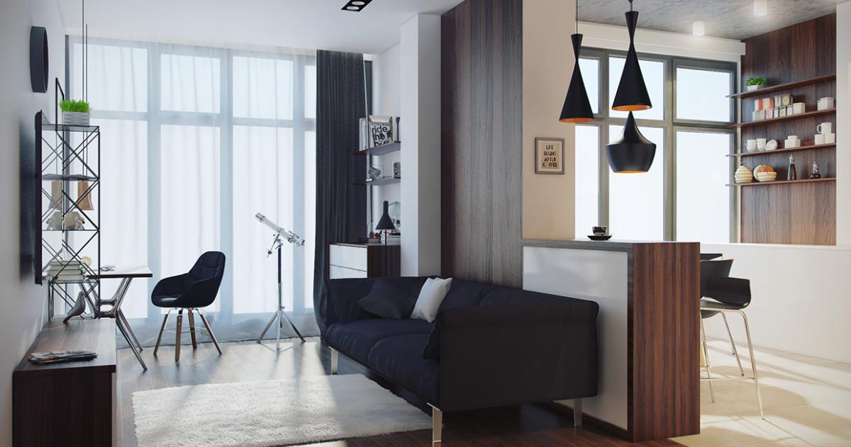 Как спланировать маленькую квартиру: 10 примеров с комментариями эксперта