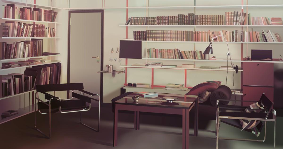 Открытие выставки в музее дизайна Vitra