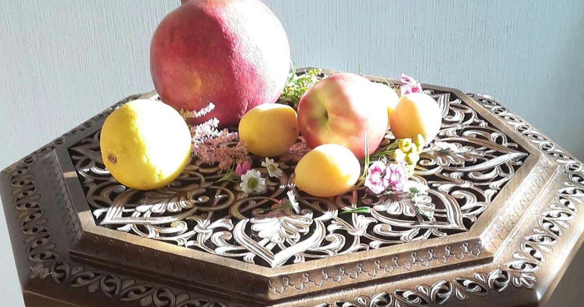 В Москве появился традиционный восточный столик