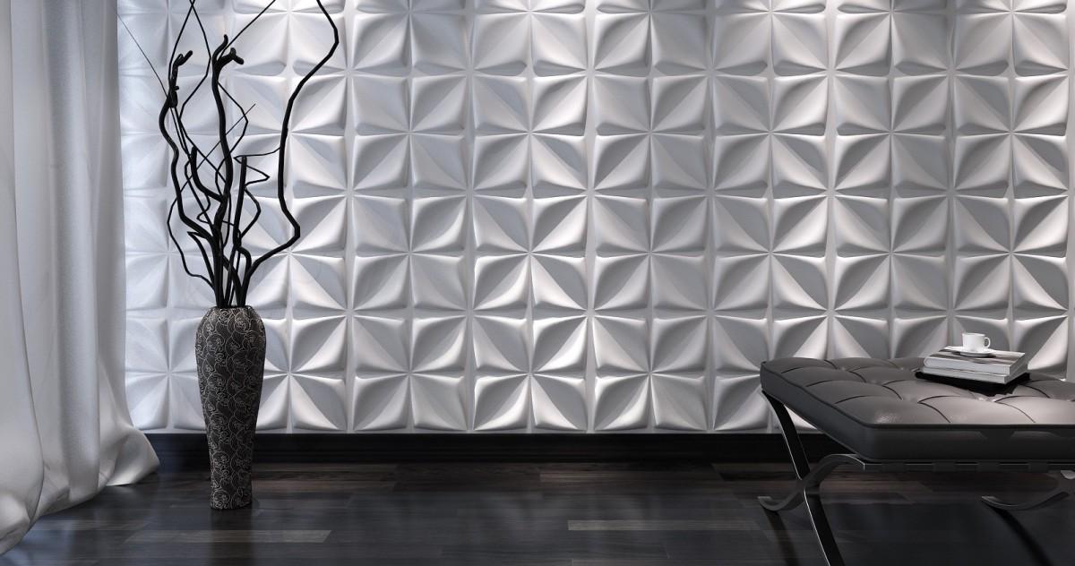 Простой способ сделать интерьер уникальным: 10 классных интерьеров с 3D-панелями