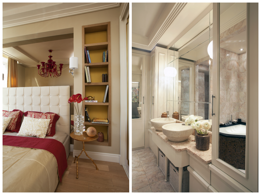 Туалет в цветах: белый, бордовый, коричневый, бежевый. Туалет в стиле американский стиль.