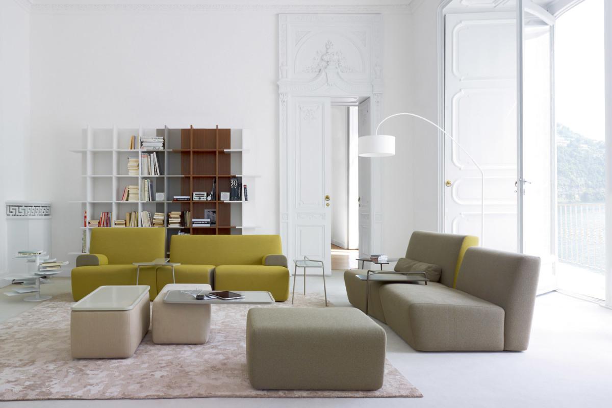 Гостиная, холл в цветах: серый, белый, салатовый, бежевый. Гостиная, холл в стиле минимализм.