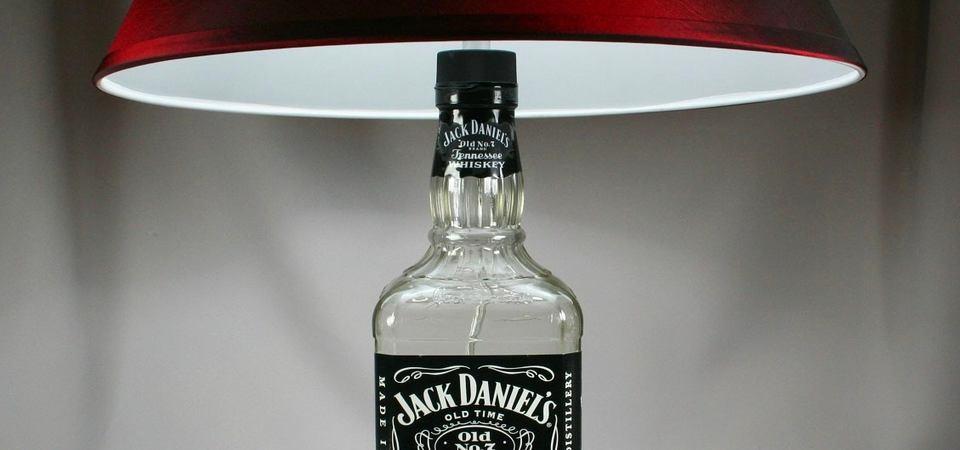 Оригинальная настольная лампа Jack Daniel's: мастер-класс