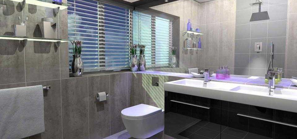 Как сделать небольшую ванную комнату привлекательной