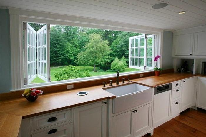 Кухня в цветах: серый, светло-серый, белый, темно-коричневый, коричневый. Кухня в стиле классика.