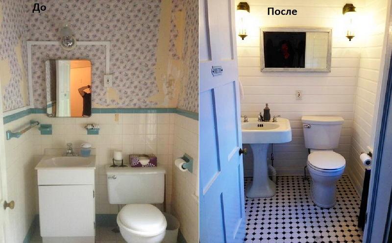 Туалет в цветах: черный, серый, светло-серый, белый, бежевый. Туалет в .