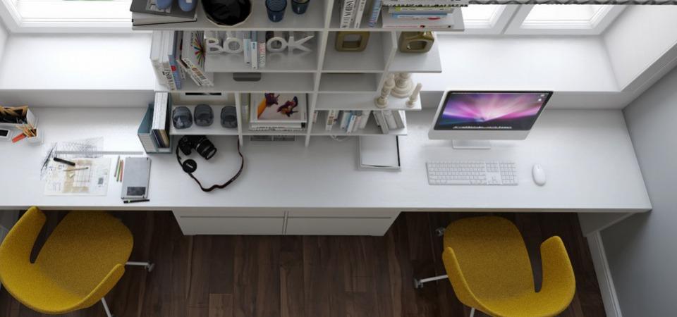 Где в квартире сделать офис: 5 идей и 10 примеров