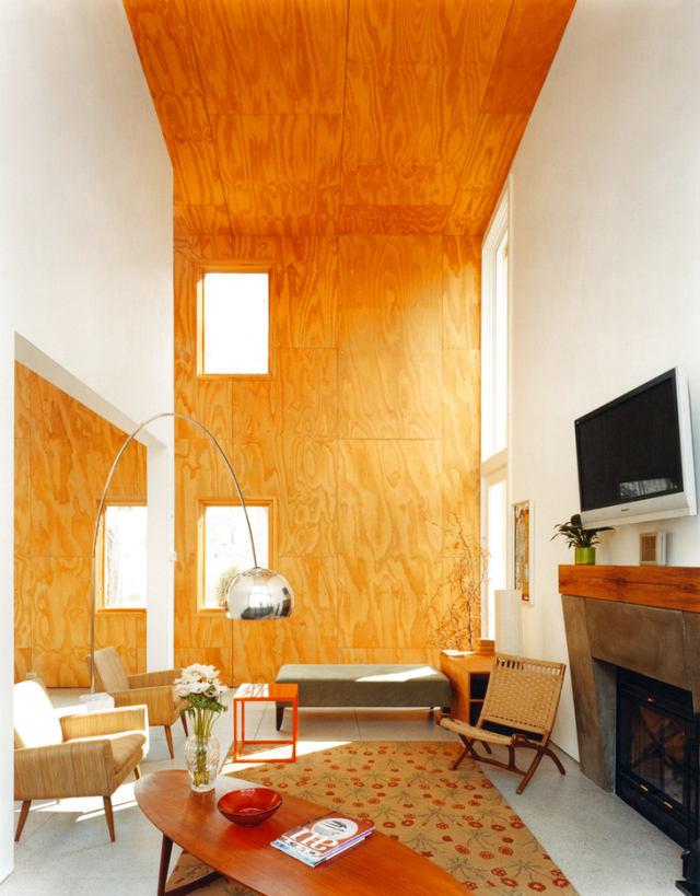 Гостиная, холл в цветах: оранжевый, желтый, светло-серый, бежевый. Гостиная, холл в стиле эклектика.