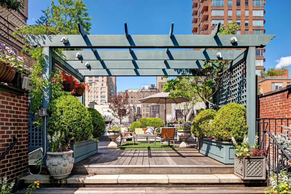 Жизнь на крыше: квартира на Манхэттене с огромной террасой