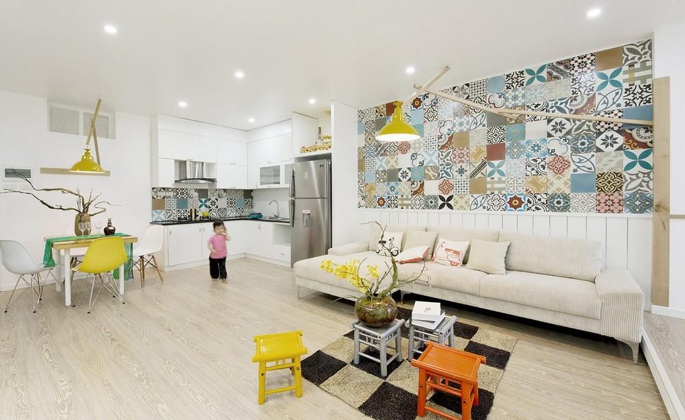 Интерьер по-ханойски: пятикомнатная 83-метровая квартира