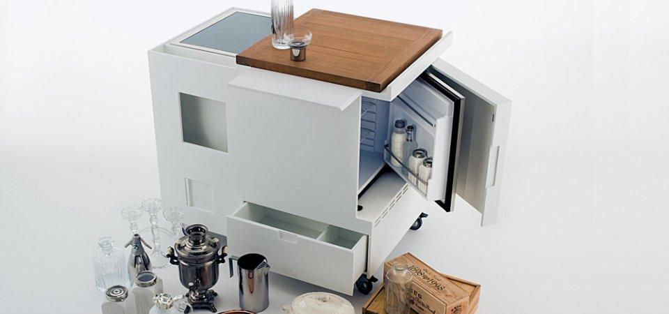 3 мини-кухни для самых маленьких квартир