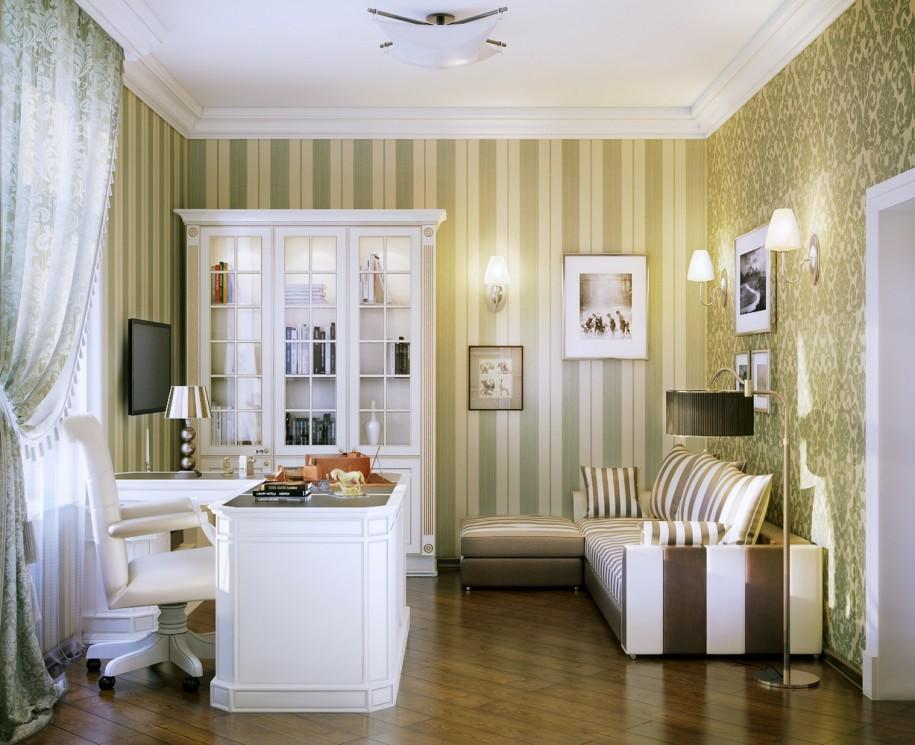Мебель и предметы интерьера в цветах: белый, салатовый, коричневый, бежевый. Мебель и предметы интерьера в стилях: английские стили.