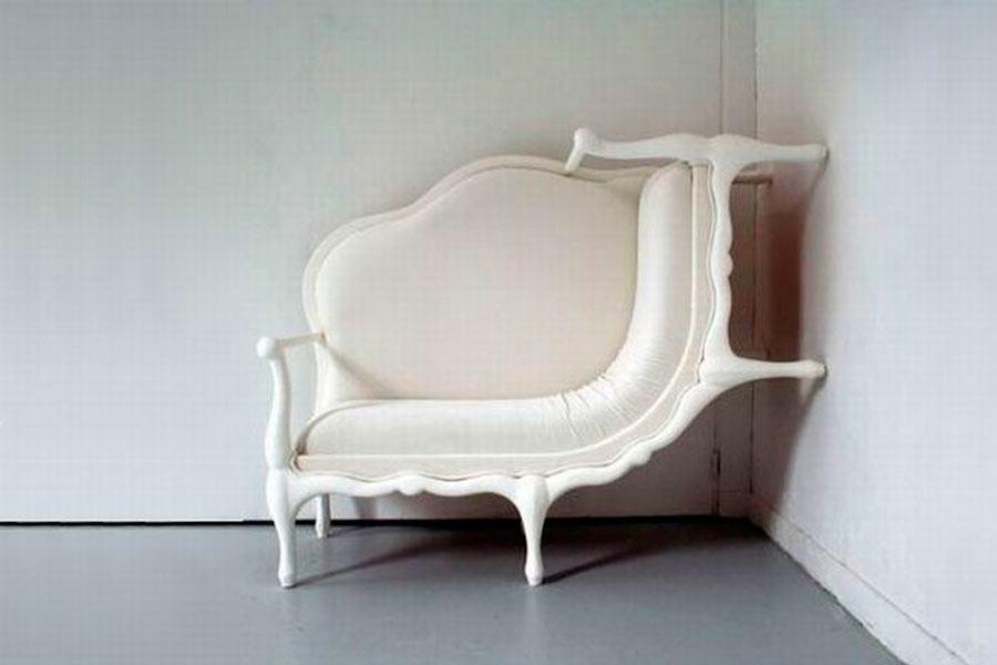 Мебель и предметы интерьера в цветах: черный, серый, белый, темно-коричневый. Мебель и предметы интерьера в стиле эклектика.