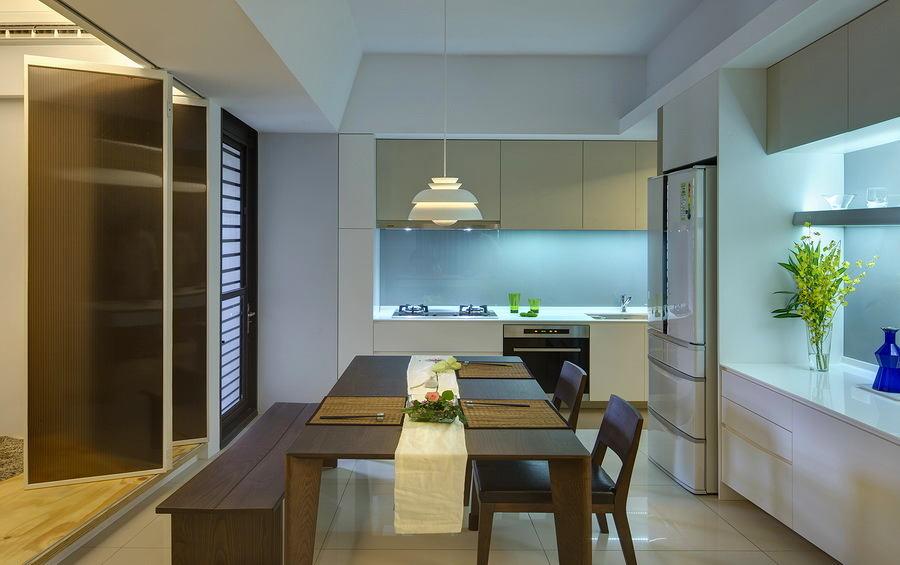 Кухня в цветах: бирюзовый, черный, серый, темно-зеленый. Кухня в .