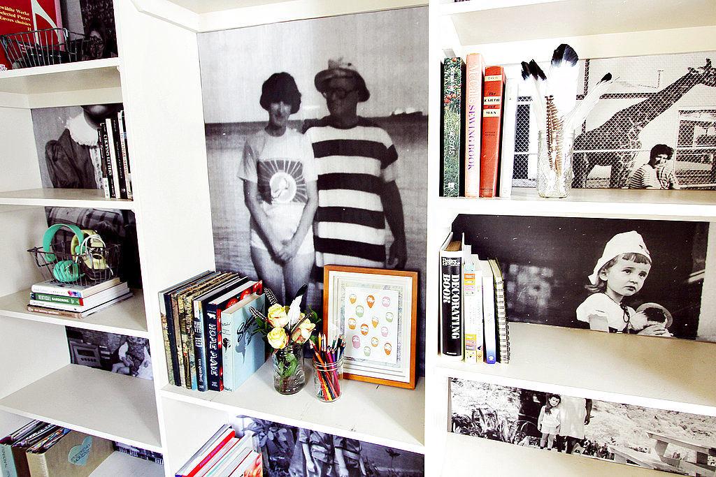 Мебель и предметы интерьера в цветах: черный, серый, светло-серый, белый. Мебель и предметы интерьера в стиле эклектика.
