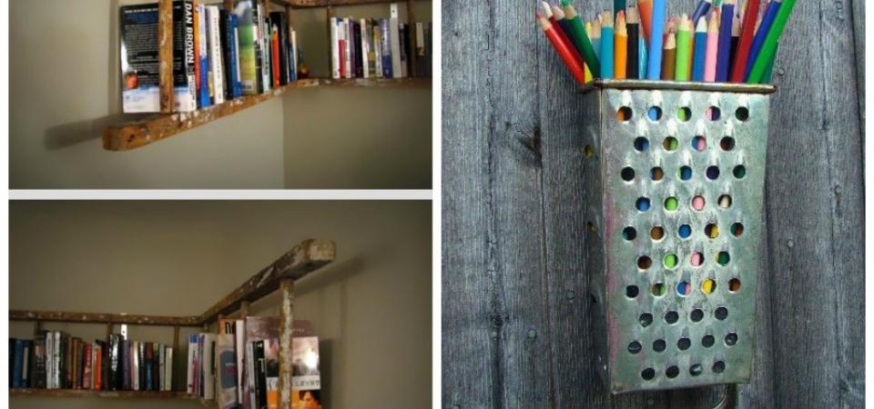 Обувь на стенах и лестница вместо книжной полки? Узнайте о системах хранения больше!