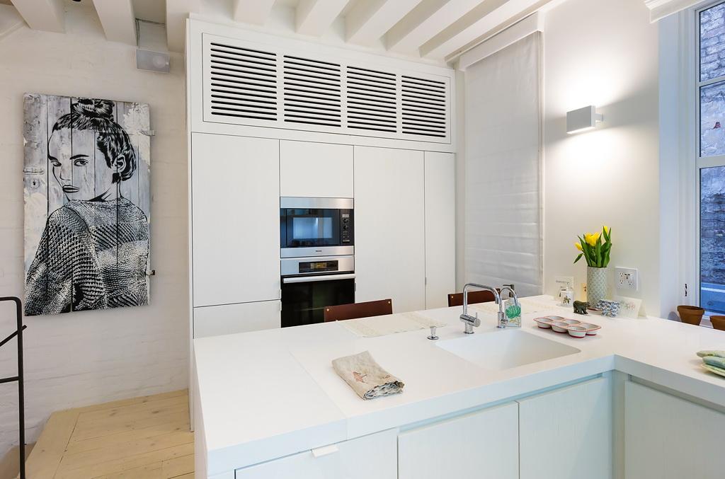 Кухня в цвете белый. Кухня в стиле скандинавский стиль.