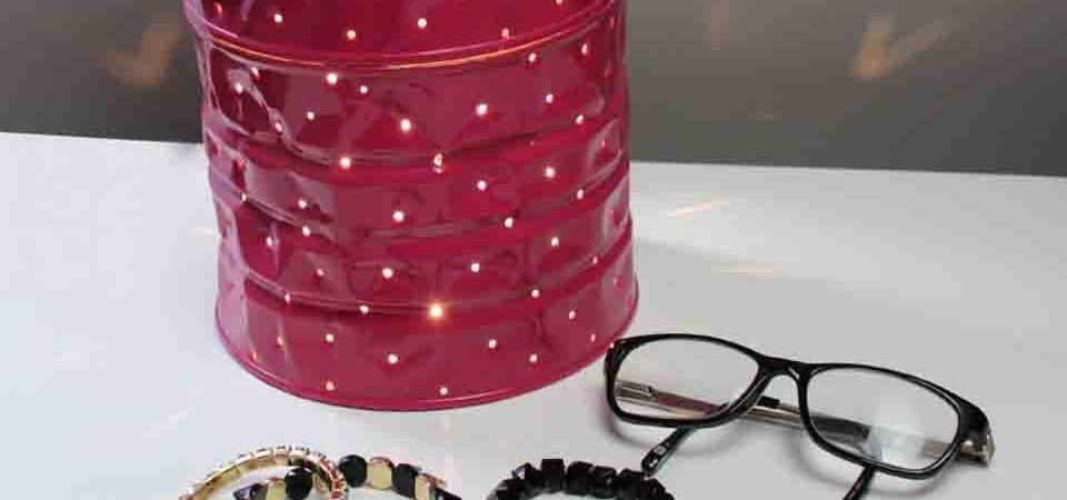 Оригинальный дизайнерский светильник из консервных банок: мастер-класс