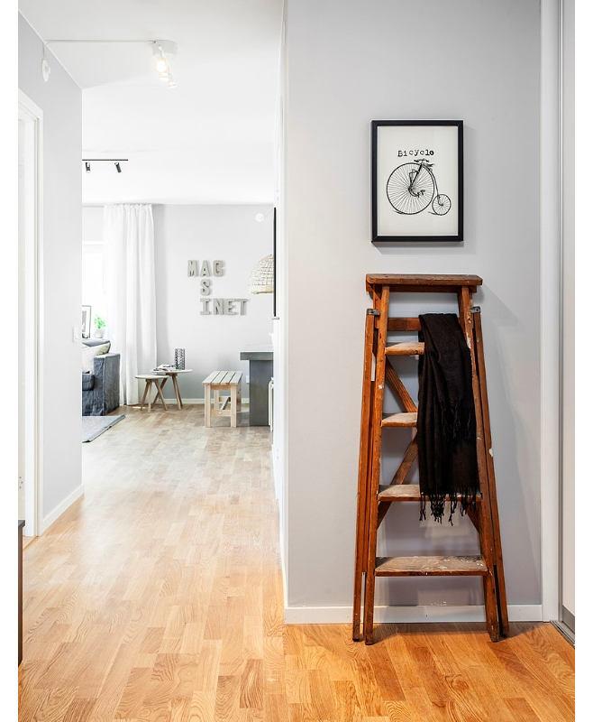 Мебель и предметы интерьера в цветах: черный, серый, светло-серый, коричневый. Мебель и предметы интерьера в стиле скандинавский стиль.