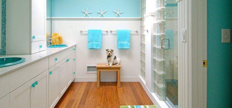 7 шагов к тёплому и уютному интерьеру ванной комнаты