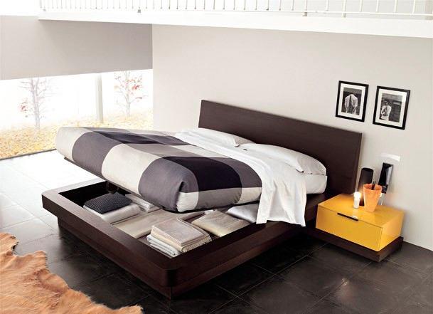 Купить современную кровать с подъемным механизмом