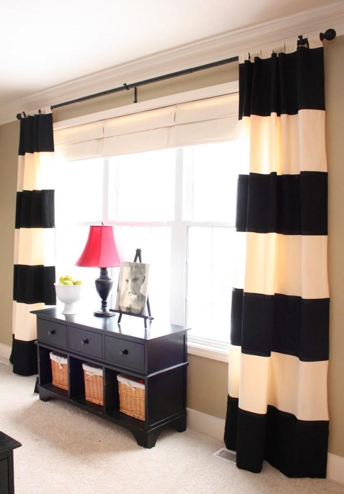 Мебель и предметы интерьера в цветах: черный, белый, бежевый. Мебель и предметы интерьера в стиле минимализм.