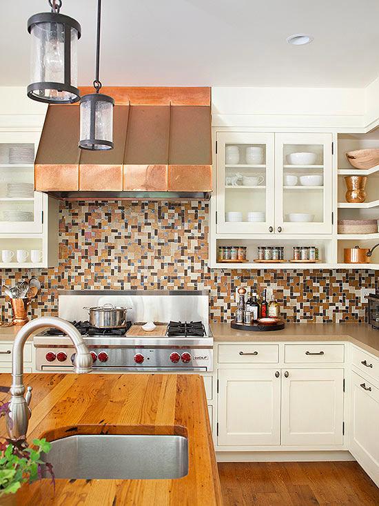 Кухня в цветах: желтый, серый, светло-серый, коричневый, бежевый. Кухня в .