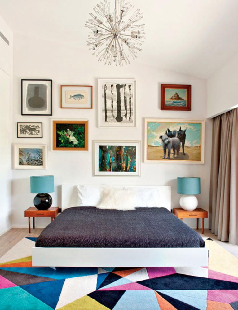 Мебель и предметы интерьера в цветах: серый, светло-серый, сине-зеленый. Мебель и предметы интерьера в стиле эклектика.