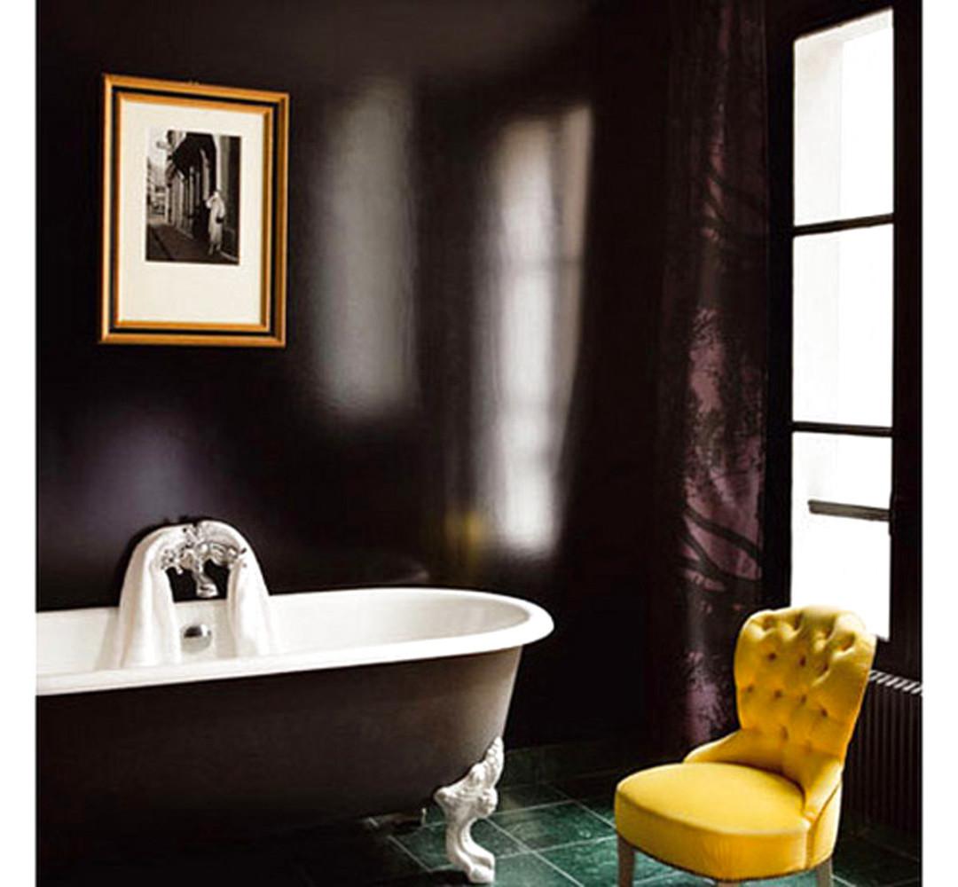 Мебель и предметы интерьера в цветах: черный, серый, светло-серый, лимонный. Мебель и предметы интерьера в стиле эклектика.
