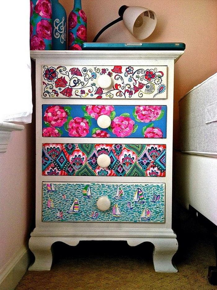 Мебель и предметы интерьера в цветах: бирюзовый, светло-серый, белый, розовый. Мебель и предметы интерьера в .