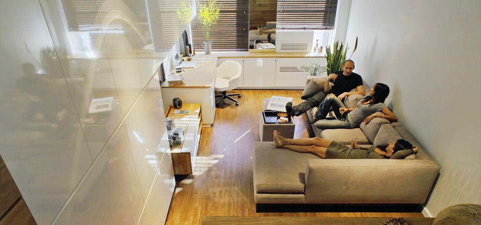 Для ленивых: экспресс-гид по обустройству маленькой квартиры-студии