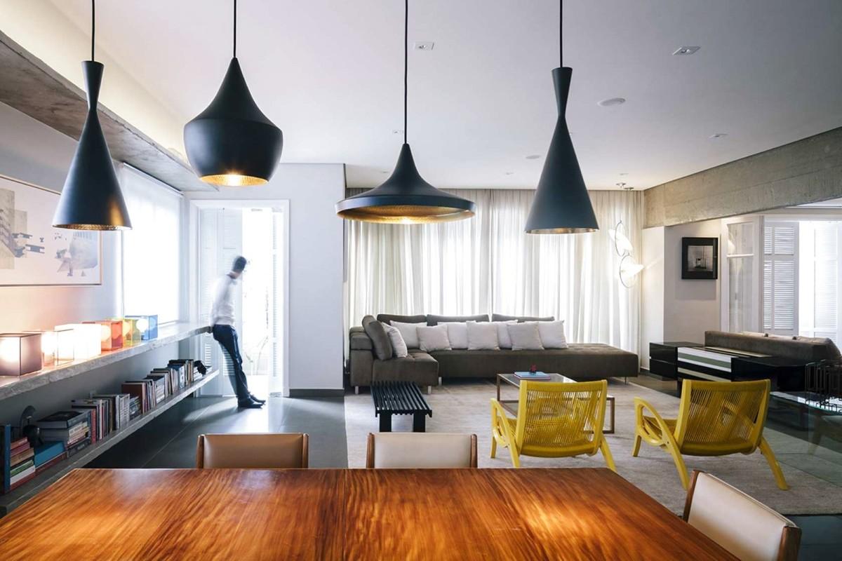 Гостиная, холл в цветах: серый, светло-серый, белый, лимонный, коричневый. Гостиная, холл в стиле минимализм.