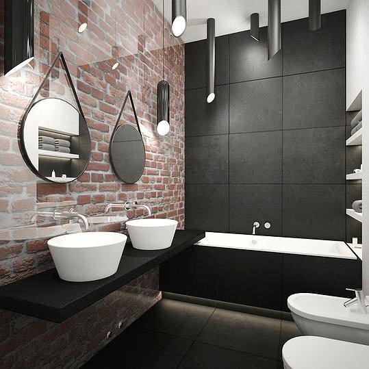 Мебель и предметы интерьера в цветах: черный, серый, светло-серый, белый, бежевый. Мебель и предметы интерьера в стилях: минимализм, хай-тек.
