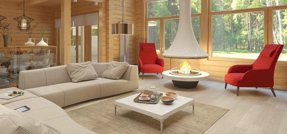 Стильный сруб: современный деревянный дом в Подмосковье