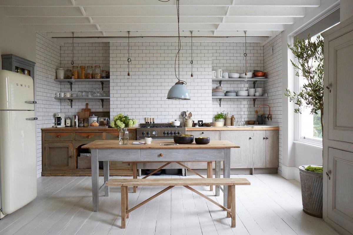 Кухня в цветах: черный, серый, светло-серый, белый, темно-зеленый. Кухня в стиле скандинавский стиль.