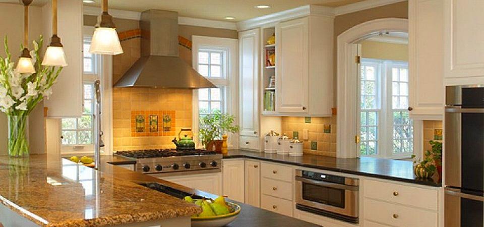 Самые популярные схемы планировки кухни