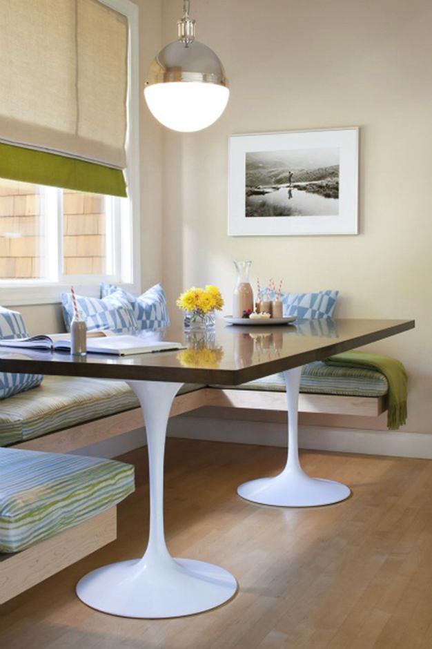 Кухня в цветах: серый, светло-серый, белый. Кухня в стиле минимализм.