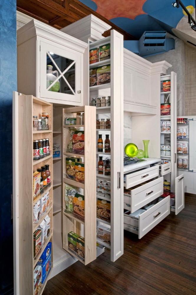 Кухня в цветах: белый, бежевый. Кухня в .
