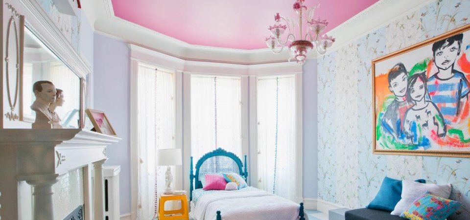 Цвет потолка: 27 красочных вариантов с советами дизайнера