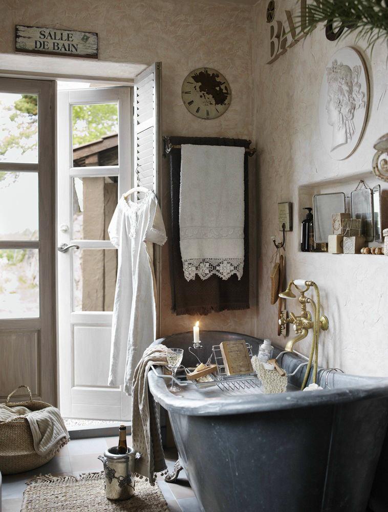 Мебель и предметы интерьера в цветах: черный, серый, светло-серый, белый, сине-зеленый. Мебель и предметы интерьера в стилях: прованс.