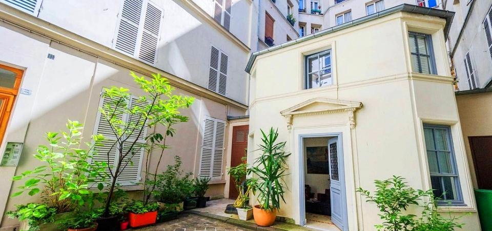 Домик площадью 20 квадратных метров в Париже