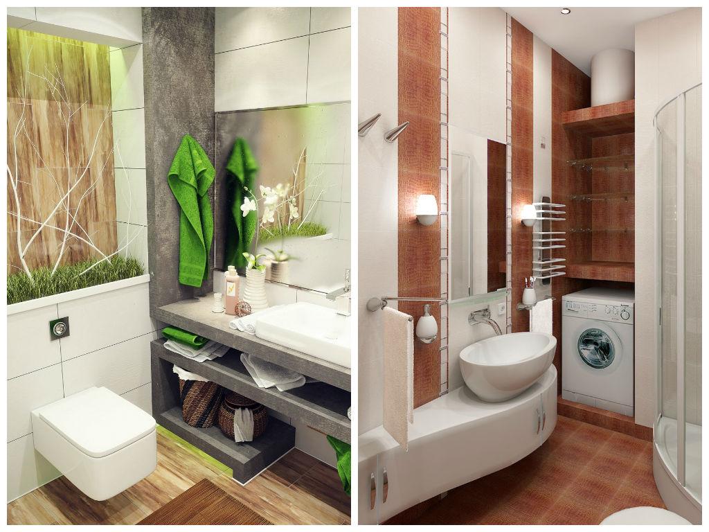 Туалет в цветах: серый, светло-серый, коричневый. Туалет в .
