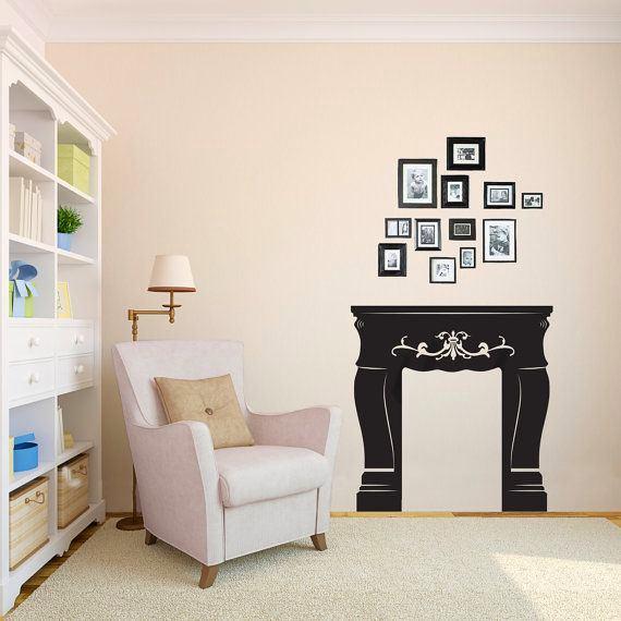 Мебель и предметы интерьера в цветах: черный, серый, светло-серый. Мебель и предметы интерьера в стиле классика.